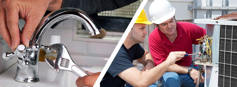 our team can help you with plumbing and hvac services
