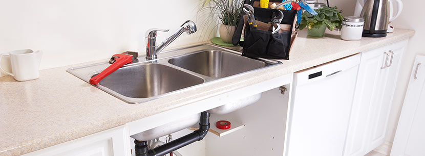 repairing kitchen appliances is part of our plumbing in Longmont services